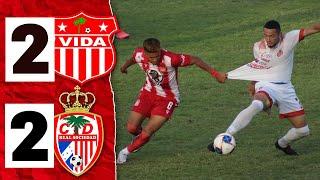 INTENSO EMPATE: VIDA 2-2 REAL SOCIEDAD (RESUMEN) Jornada 4 | 27-2-2021 | Clausura