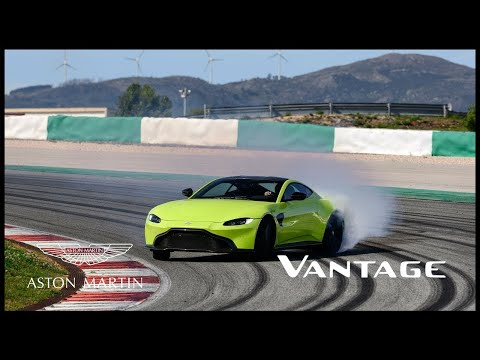 The new Aston Martin Vantage - #BeautifulWontBeTamed