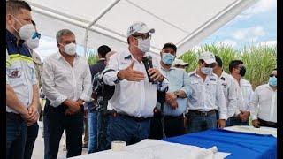 Hospital temporal de Escuintla tiene posible fecha de inauguración