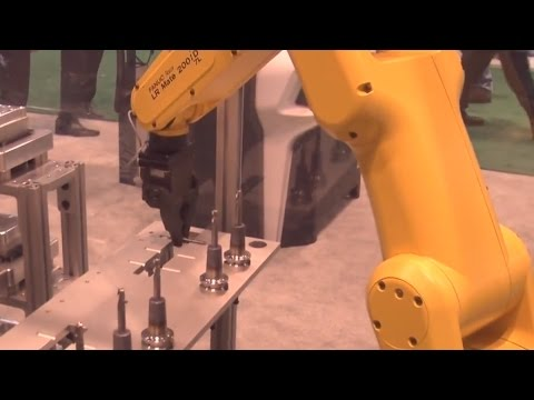 Speroni & Fanuc Automated Shrink Fit Process at IMTS 2016