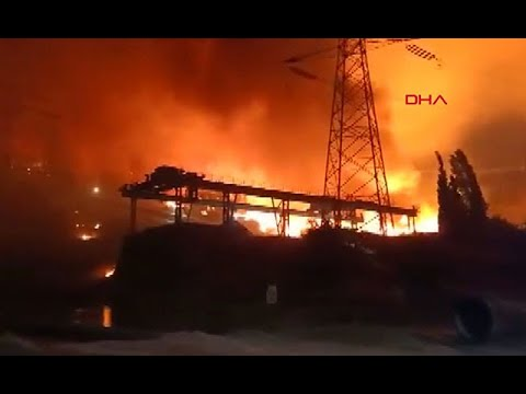 Korkulan Oldu! Milas'taki Yangında Alevler Kemerköy Termik Santrali'ne Sıçradı