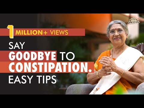 Best Tips on How to Overcome Constipation | Dr. Hansaji Yogendra