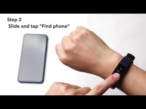 How to find your phone with HONOR Band 5?