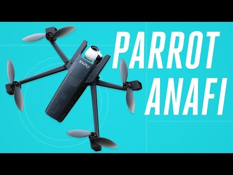 Parrot Anafi drone review: DJI still owns the sky