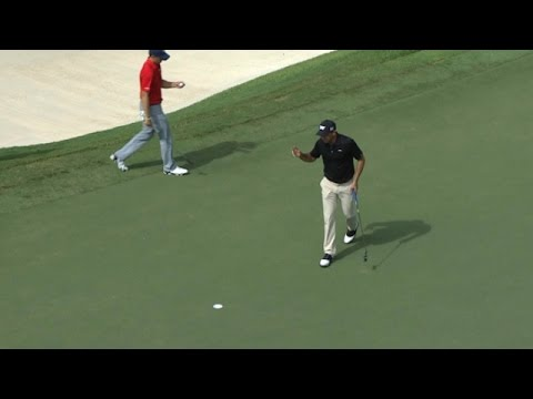 Charl Schwartzel grabs eagle on No. 8 at the TOUR Championship