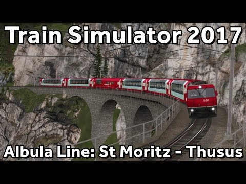 Train Simulator 2017: Albula Line with RhB GE4-4 III