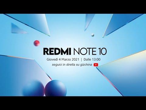 DIRETTA Xiaomi Redmi Note 10 Series: sco …