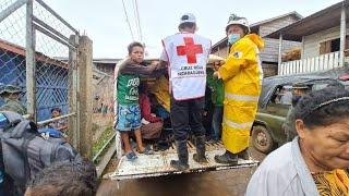 Cruz Roja Nicaragüense mantiene atención en comunidades del Caribe afectadas por huracanes