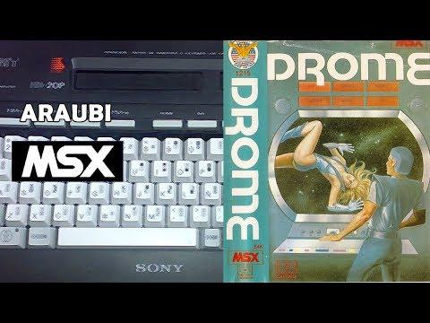Drome (Bytebusters, 1987) MSX [282] El Kiosko