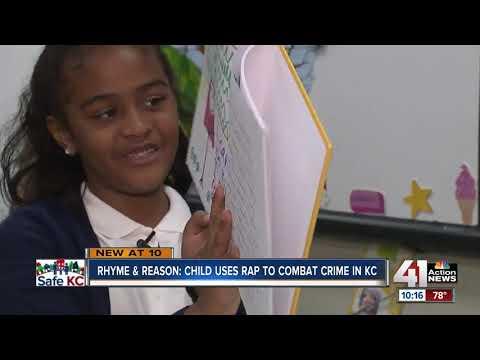 South Kansas City first-grader uses rap to combat gun violence