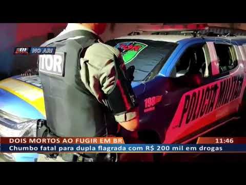 DF ALERTA - Dois mortos ao fugir em BR