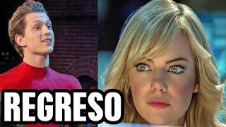 HA VUELTO Gwen Stacy de Emma Stone en Spider Man 3, Andrew Garfield y más rumores spider verse