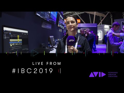 #AVID #IBC2019 LIVE ⏩ Turn around breaking news and sports highlights at lightning speed
