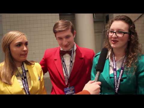Where'd You Catch The Theatre Bug? BroadwayCon