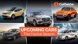 Top 10 Upcoming Cars in India 2019 | Maruti S-Presso, Tata Altroz, Toyota Vellfire & More | CarDekho