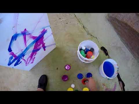 Sloní vlog - Malování