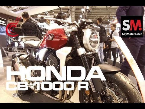 Honda CB1000R 2018 / EICMA 2017 [FULLHD]