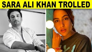 Sara Ali Khan brutally trolled for sharing a post on Sushant Singh Rajput - BOLLYWOODCOUNTRY
