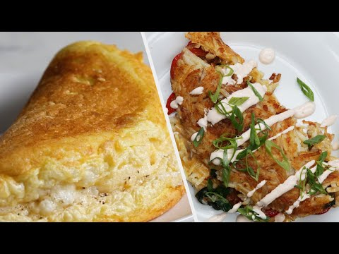Omelette Recipes Perfect For Your Weekend Breakfast ? Tasty