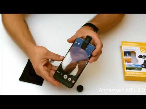 Unboxing - Kameralinser til mobiltelefonen. Andersson MEL 2.0