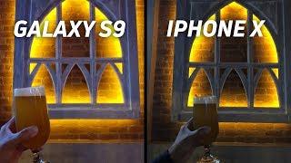 Samsung Galaxy S9 vs iPhone X Camera Shootout