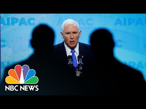 Vice President Mike Pence: Democratic Party 'Co-Opted' By Anti-Semitic Rhetoric | NBC News