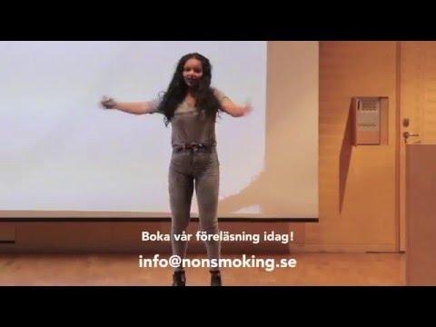 A Non Smoking Generations föreläsning Tobaksbarn - 50 kr och barnarbete på köpet