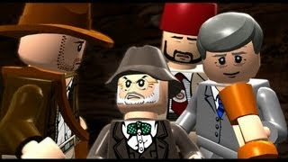 LEGO Indiana Jones: The Original Adventures Walkthrough Finale - Desert Ambush & Temple of the Grail