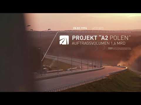 STRABAG Poland: A2 toll motorway from Nowy Tomyśl to Świecko (2009–2012)