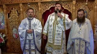 Liturghie Arhiereasca la biserica Unitatii Militare din Simleu Silvaniei, 2017 - Cuvantarile rostite