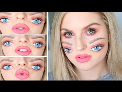 Double Eyes Tutorial for Halloween!  ? Trippy Four Eyes