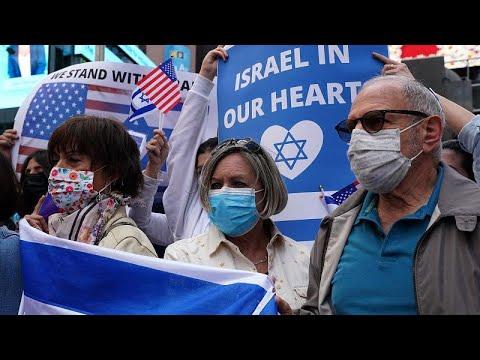 İsrail-Filistin çatışması Dünya'nın farklı yerlerinde protesto edildi