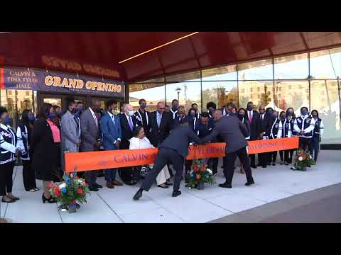 Morgan State University Tyler Hall Grand Opening and Ribbon Cutting Ceremony.