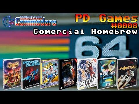 PD Games #0008: C64 Comercial Homebrew Games