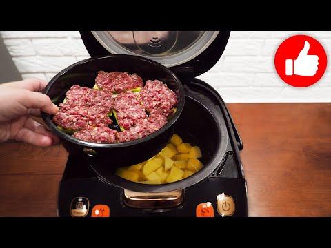 Вы будете в восторге! Никогда не перестану готовить по этому рецепту в мультиварке кабачки с фаршем!