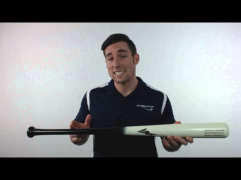 BamBooBat Energize Bamboo Wood Baseball Bat: SQ29BW Black/White Adult