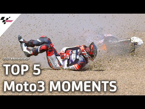 Top 5 Moto3 moments from the #AndaluciaGP