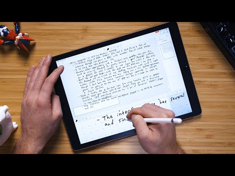 The Best Note-Taking App for the iPad photo