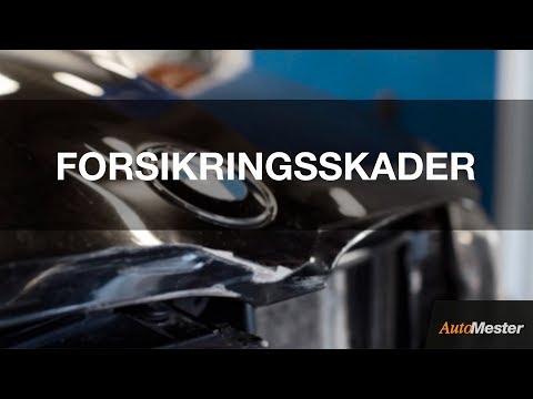 AutoMester tilbyder reparation af alle typer forsikringsskader