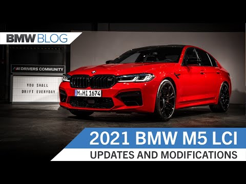 NEW BMW M5 COMPETITION: What's Been Updated