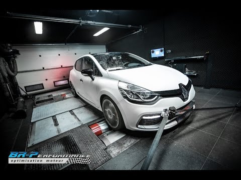 Renault Clio IV RS Trophy 1.6T 220hp Stage 1 by BR-Performance