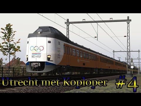 Met de Koploper naar Utrecht (EZR) - Train Simulator 2017 (Livestream #4)