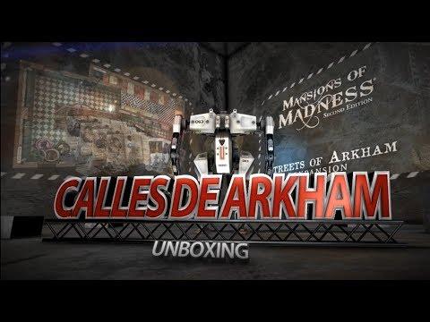 Yo Tenía Un Juego De Mesa TV #07 - Unboxing de Calles de Arkham
