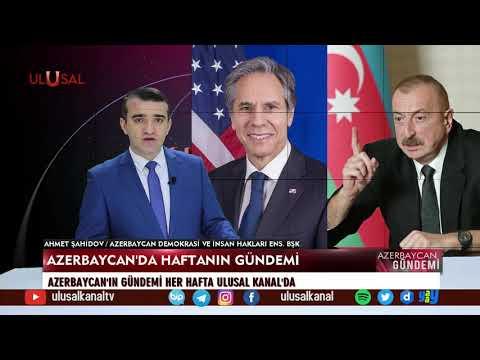 Azerbaycan Gündemi – 1 Mayıs 2021 – Ahmet Şahidov – Ulusal Kanal