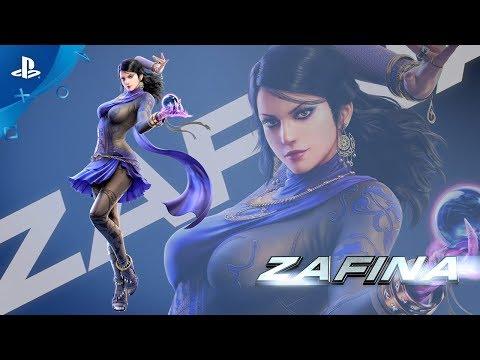 Tekken 7 - Zafina Launch Trailer | PS4
