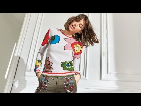 boden.co.uk & Boden Voucher Code video: Introducing Boden ICONS Spring/Summer 17