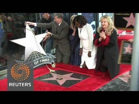 Viola Davis gets Walk of Fame star
