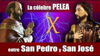 ¿Quién dijo que los santos no pelean ¡¡Impresionante pelea entre San Pedro y San José!!!
