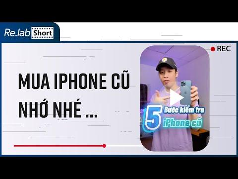Không chuyên mua iPhone cũ nhớ những bước này nhé! Không đảm bảo  100% nhưng vẫn cần thiết #Shorts