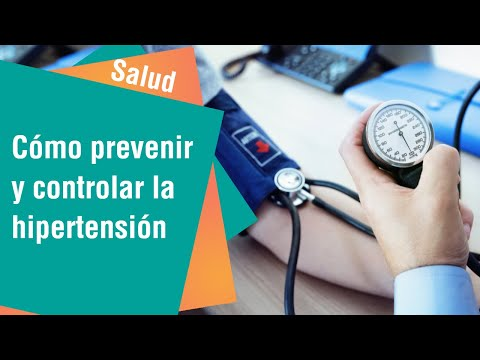 Claves para prevenir y tratar la hipertensión | Salud